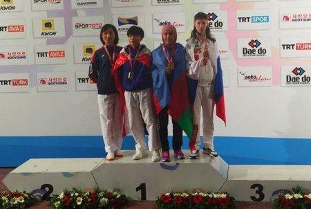 Xanım parataekvondoçumuz dünya çempionatında medal qazanıb - FOTO
