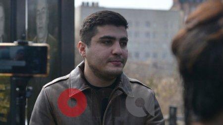 Mehman Hüseynov azadlığa buraxıldı - FOTOLAR