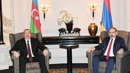 Əliyev-Paşinyan görüşü başa çatdı
