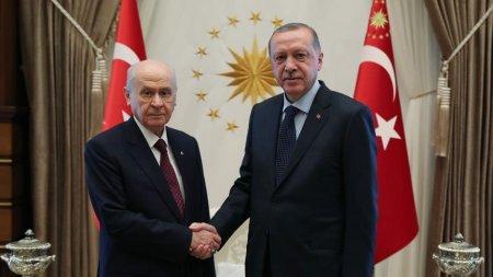 Ərdoğanla Bahçeli İstanbulda yeni seçki tələb etdi