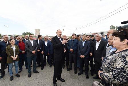 Prezident İlham Əliyev Sabunçu dəmir yolu vağzalı kompleksinin açılışında iştirak edib  YENİLƏNƏCƏK